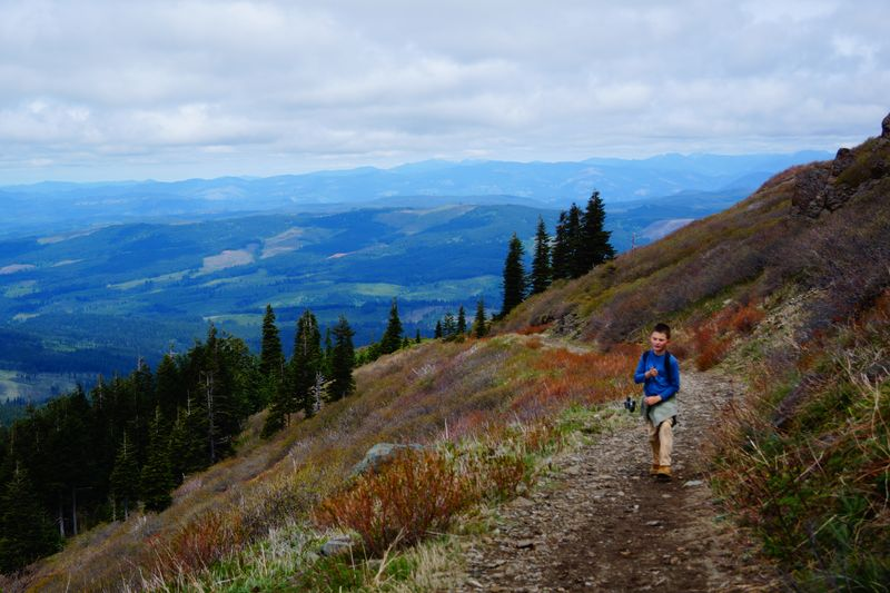 Hiking with Kids on Silver Star Mountain