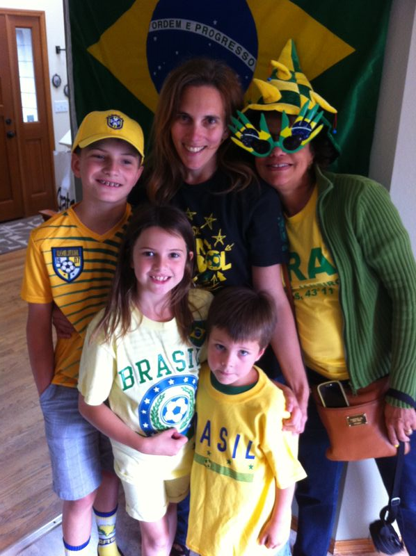 Brasil World Cup 2014 Celebration
