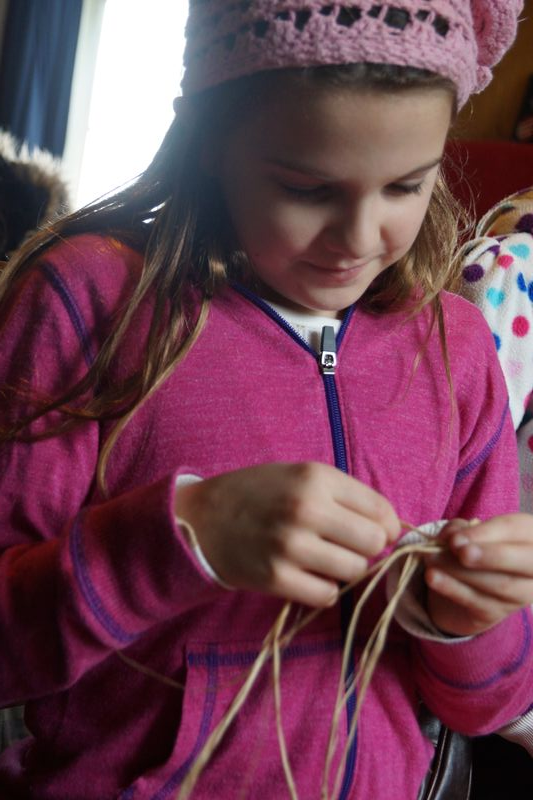 Wolf College Wilderness School-Making Basket String
