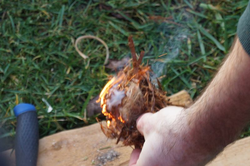 Wolf College Wilderness School-Magnesium Flint Fire Making